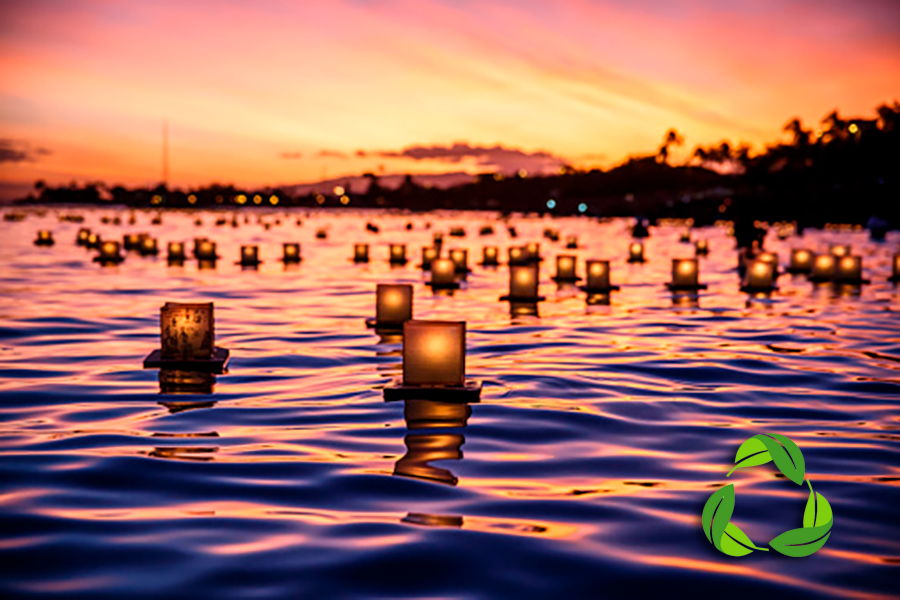 River Lantern Lighting | Terrapin Events