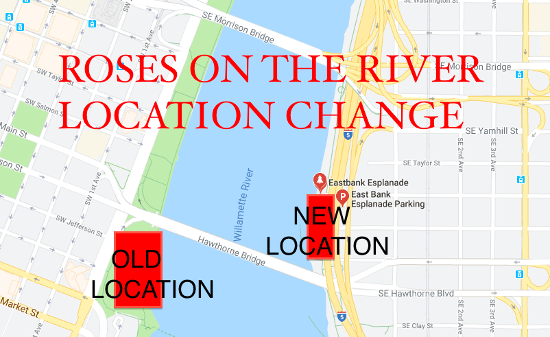 Roses on the RIver Updated Map
